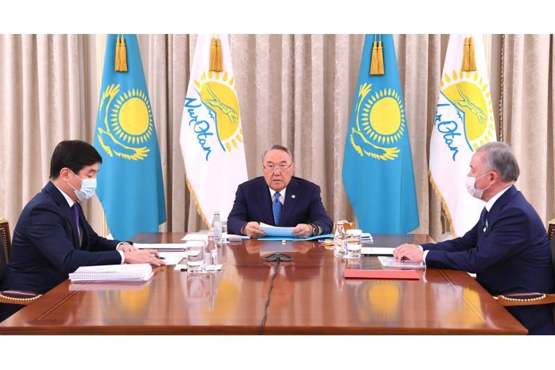 Состоялось Бюро Политсовета Nur Otan под председательством Нурсултана Назарбаева