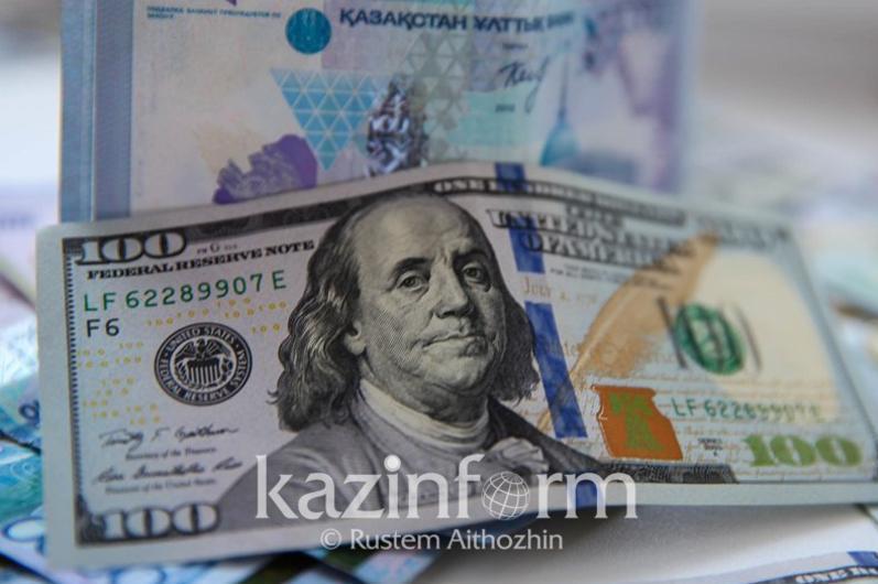 今日美元兑坚戈终盘汇率1: 424.66
