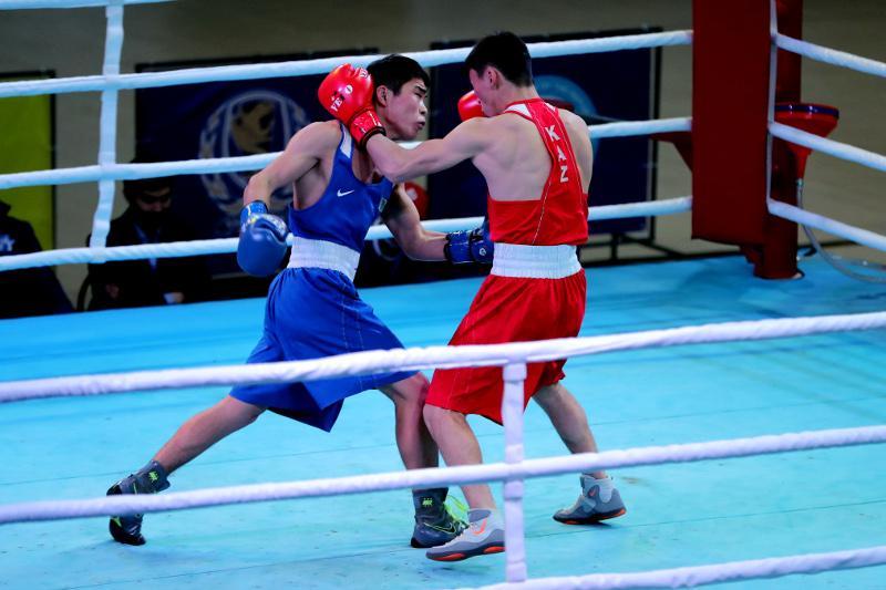 Подведены итоги второго дня чемпионата Казахстана по боксу