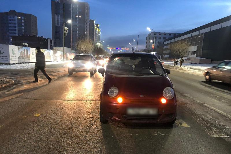 50-летнюю женщину сбила на пешеходном переходе водитель в Петропавловске