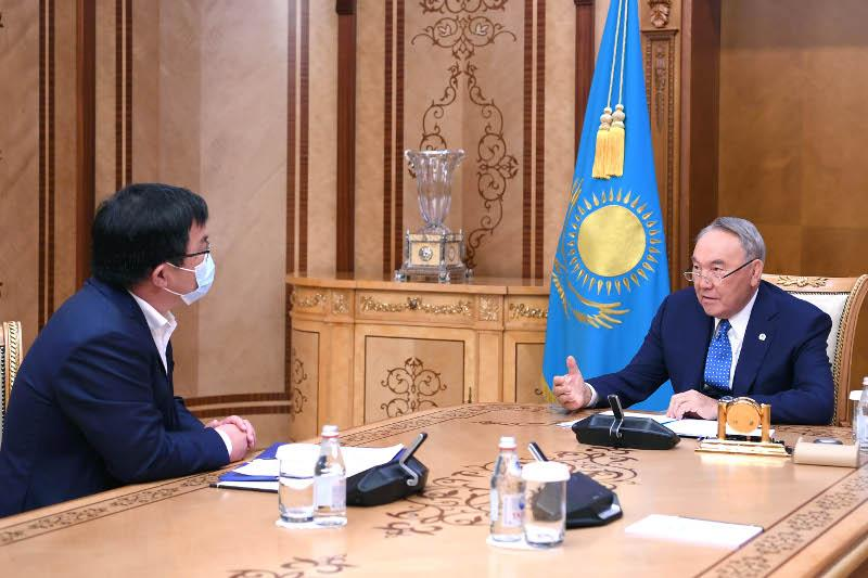 Elbasy receives head of Corporate Fund «University Medical Center»