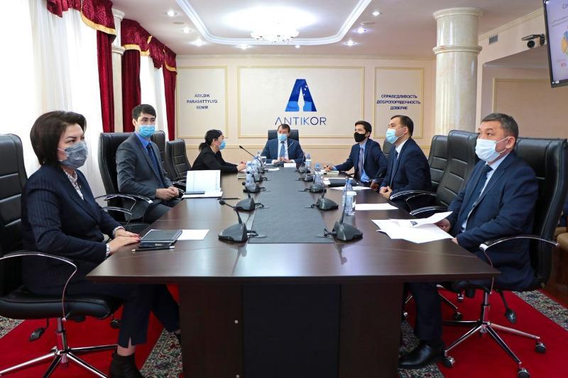 Kazakh, Hong Kong anti-corruption agencies hold online talks