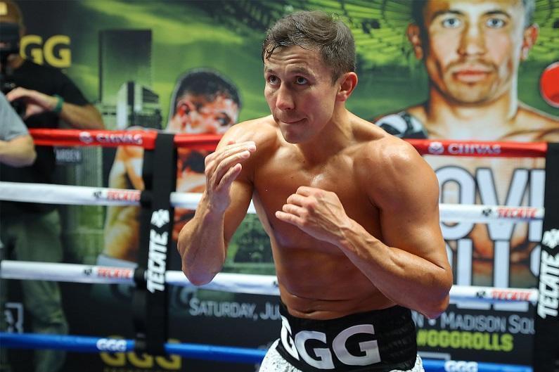 Golovkin's title defense bout set for December