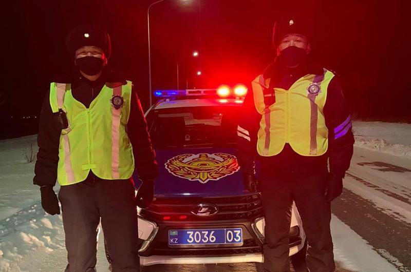 Украина азаматы ақмолалық полицейлерге алғыс айтты