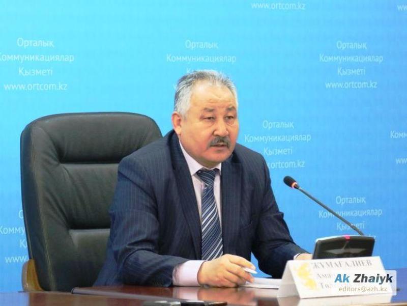 В Атырауской области вновь сменился главный санитарный врач