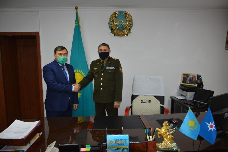 В ДЧС Алматинской области назначен новый начальник