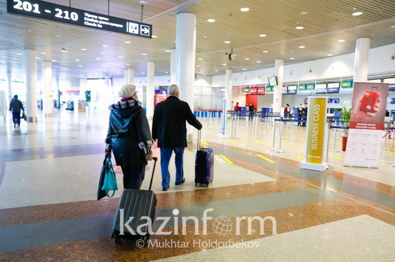 Алматыға сырттан ұшып келген 47 жолаушыдан КВИ анықталды