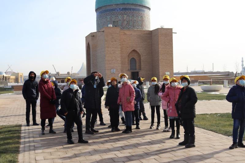 Проект «Живые уроки» запустили в Туркестане
