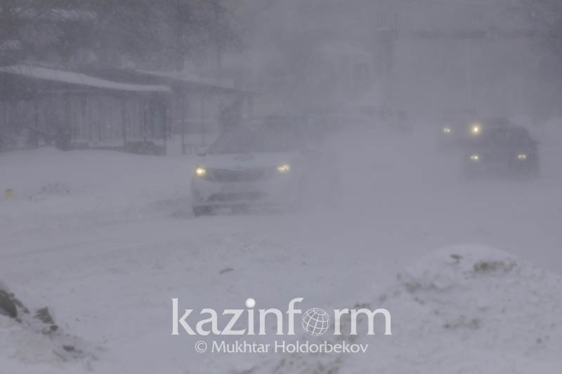 Bad weather heading to 6 rgns of Kazakhstan