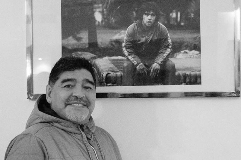 Скончалсялегендарный футболист Диего Марадона