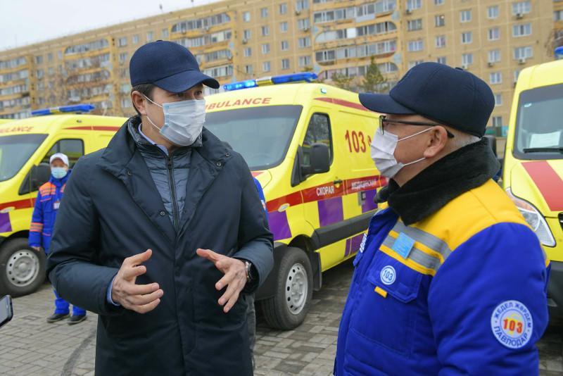 Уровень оказания неотложной медпомощи повышают в Павлодарской области