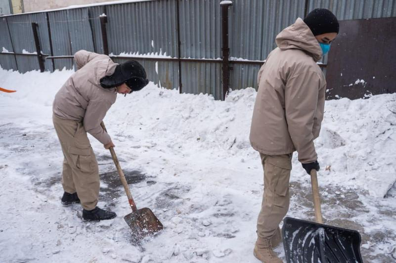 Kazakh capital continues good deeds challenge