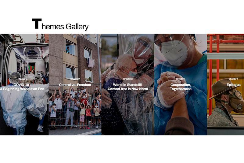 哈通社新闻摄影记者的作品在首尔展出