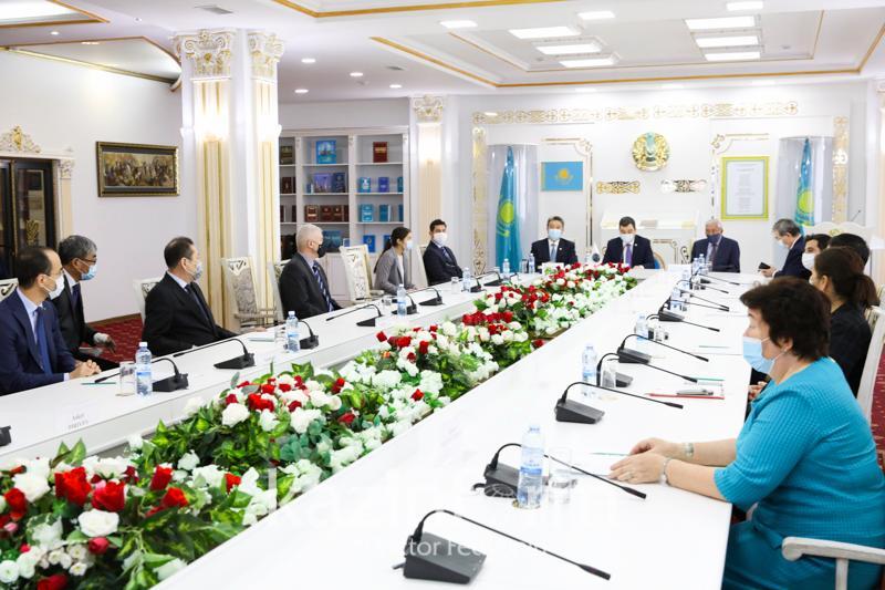 """""""突厥世界和首任总统""""主题国际会议在首都召开"""