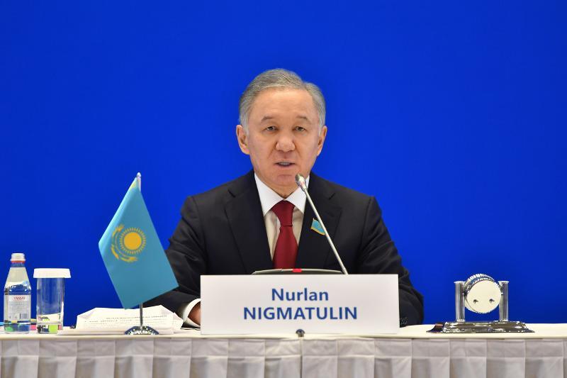 Нурлан Нигматулин открыл международную парламентскую конференцию ко Дню Первого Президента