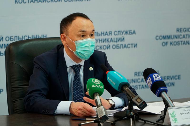 Қостанай облысының әкімі өңірде коронавирустың өршу себебін атады