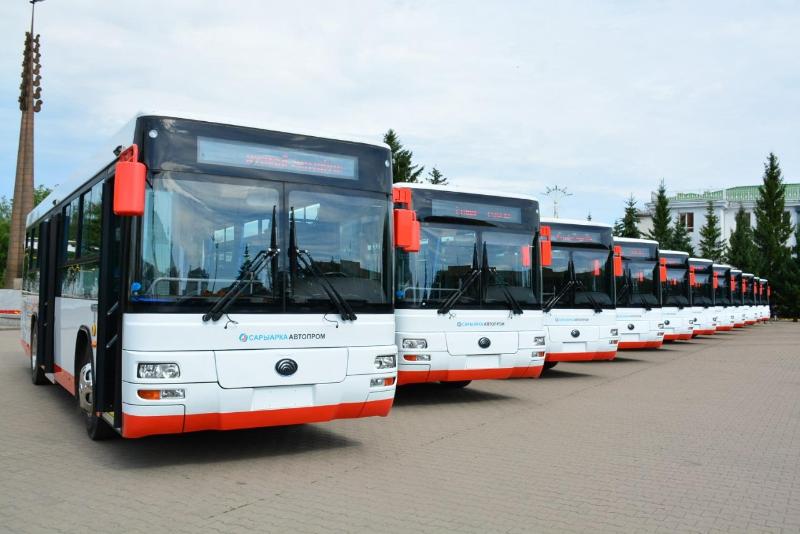 Новые автобусы запустят в пригороде Кокшетау