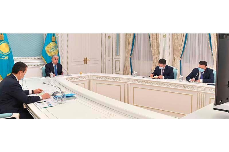 Перспективы развития ЕАЭС обсудили Президент РК и председатель коллегии ЕЭК