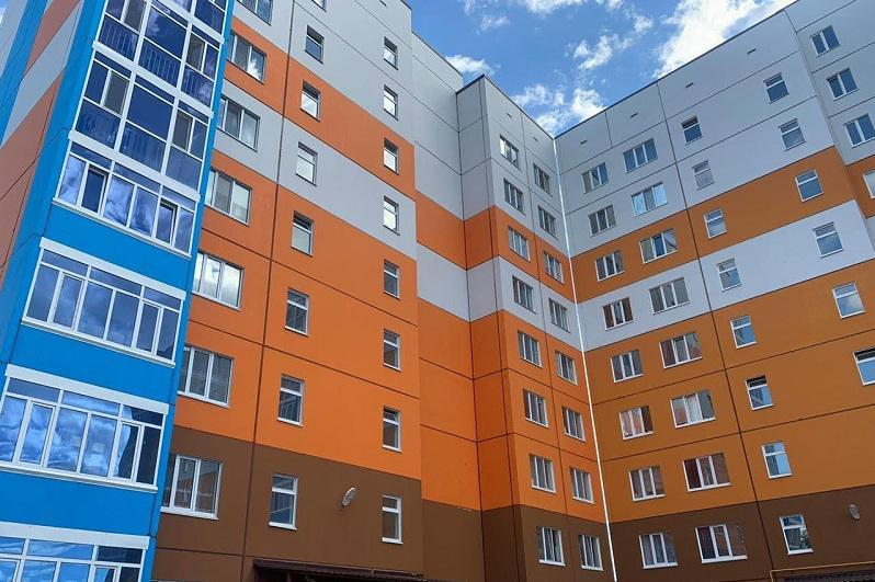 80 домов возвели в двух микрорайонах Костанайской области
