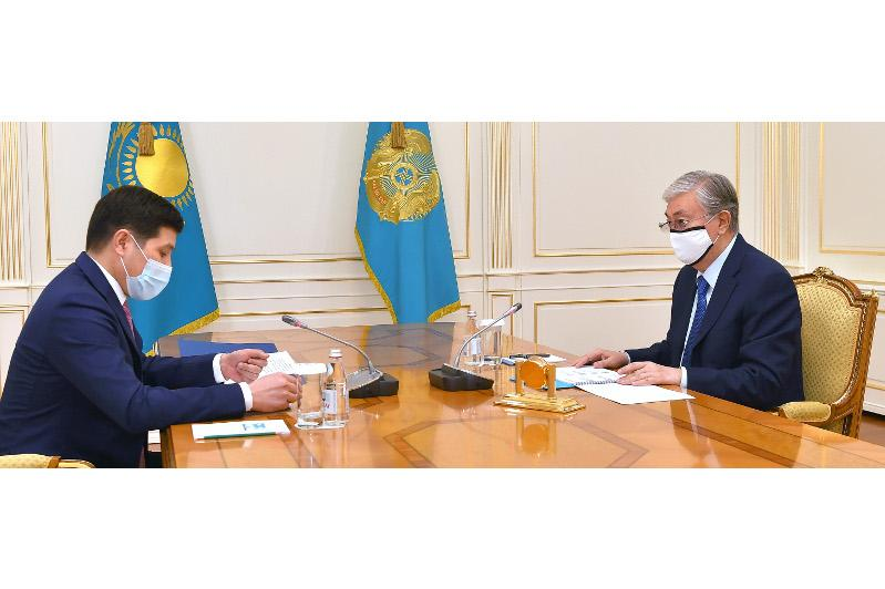 Глава государства принял акима Павлодарской области
