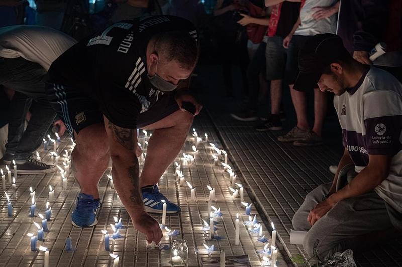 Аргентина в слезах: Прощание с Диего Марадоной