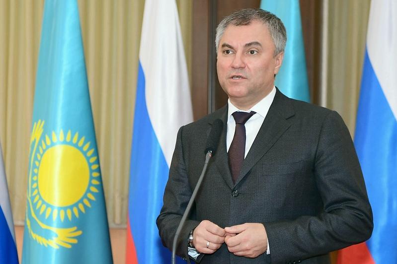 Вся жизнь Первого Президента Казахстана посвящена служению своей стране и народу - спикер Госдумы РФ