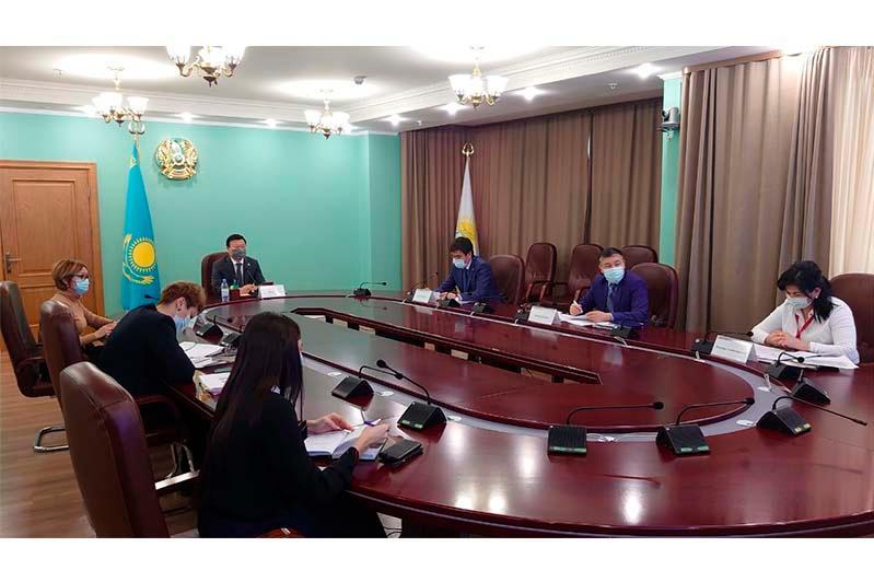 Алексей Цой провел встречу с представителямиВОЗ, ЮНИСЕФ,GAVIиA4HP
