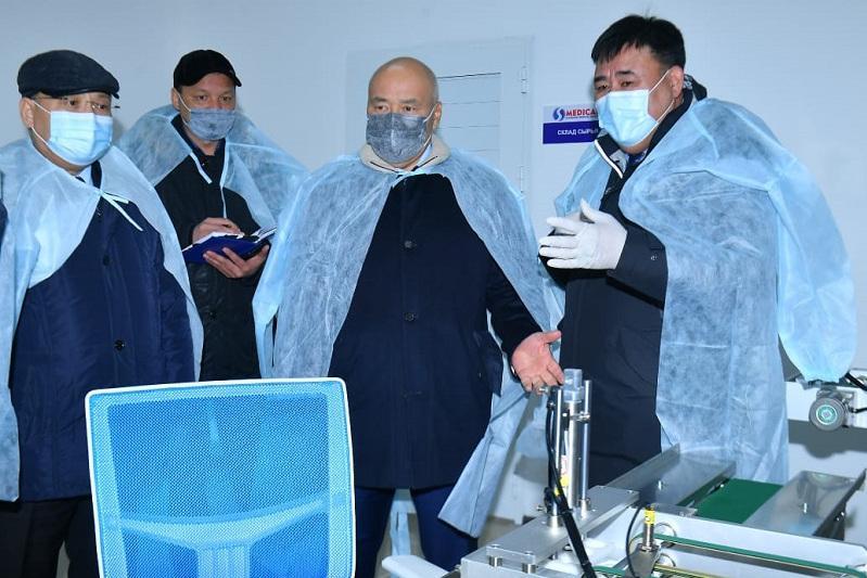 Дополнительный инфекционный стационар построят в Сайрамском районе Туркестанской области