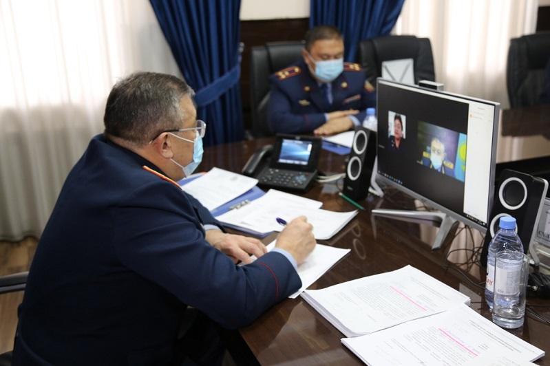 Түркістан облысының бас полицейі 150-ден астам азаматты қабылдады