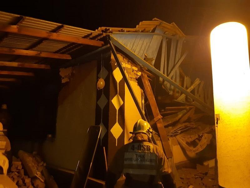 Талдықорғанға қарасты Еркін ауылында газ баллоны жарылып, 8 адам зардап шекті