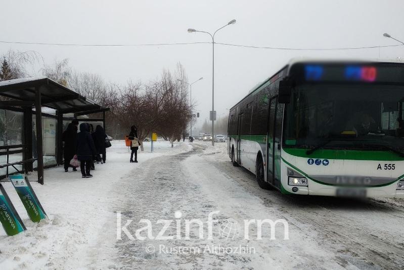 29 qarasha kúni Nur-Sultanda avtobýs júrmeıdi