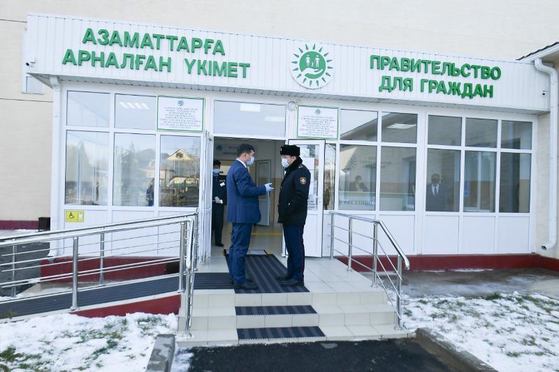 ЦОН Тюлькубасского района Туркестанской области переехал в новое здание