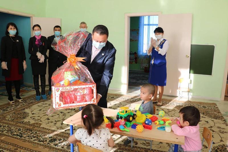 Детский сад капитально отремонтировали в Казталовском районе ЗКО
