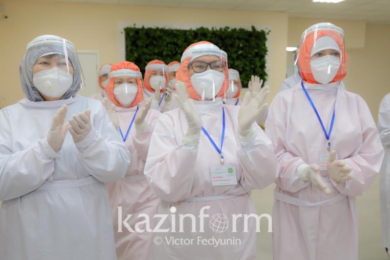 Нур-Султан шаҳри эпидемиологик ҳолати «яшил ҳудуд»га айланди