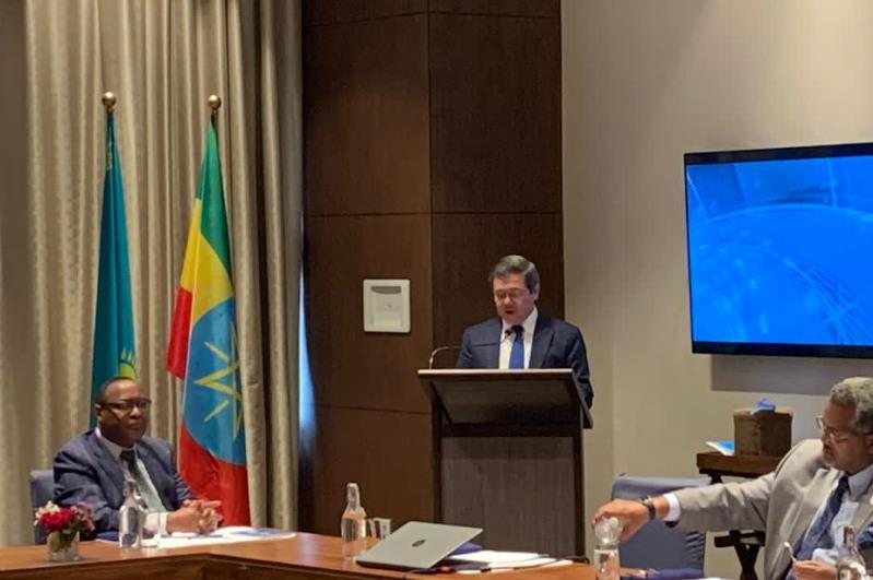 Day of the First President of Kazakhstan marked in Addis Ababa