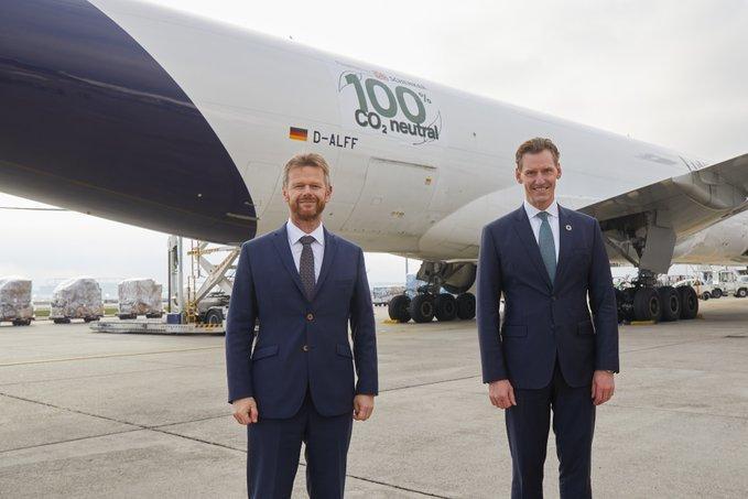 Первый в мире CO2-нейтральный грузовой рейс отправится из Франкфурта в Шанхай