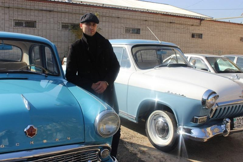 История на колесах - любитель из Тараза реставрирует старинные автомобили