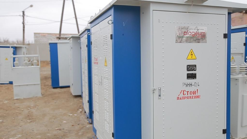Атырауда 5 мың отбасыға электр қуаты жаңа трансформаторлардан беріледі