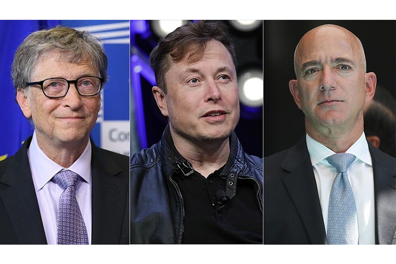 7 out of 10 richest people in world tech genius