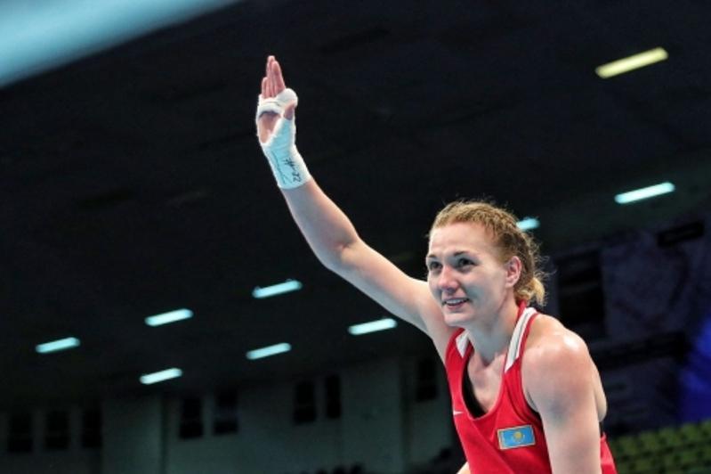 Бокстан Қазақстан чемпионаты: Валентина Хальзова олимпиада жүлдегерін ұтты