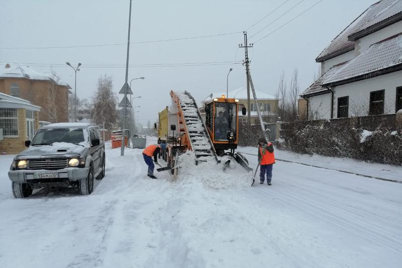 28,5 тысячи кубометров снега вывезено на полигоны столицы за минувшие сутки