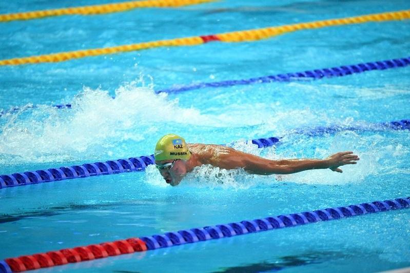 Адильбек Мусин выиграл «золото» чемпионата Казахстана по плаванию