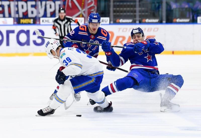 Хоккей: «Барыс» мәскеулік «Спартакты» ұтты