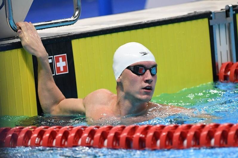 Дмитрий Баландин жүзуден Қазақстан чемпионатында үш алтын жеңіп алды