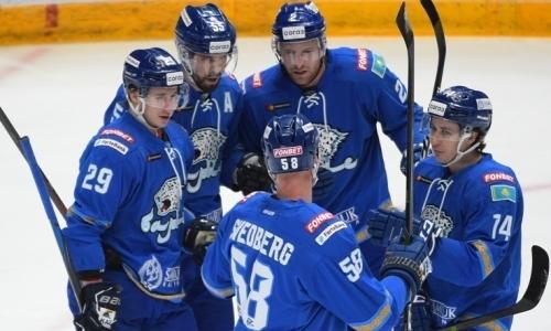 «Барыс» победил «Спартак» и прервал серию из пяти поражений в КХЛ