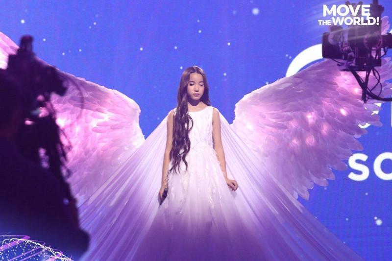 Қарақат Башанова Junior Eurovisionбайқауының финалында ән шырқады