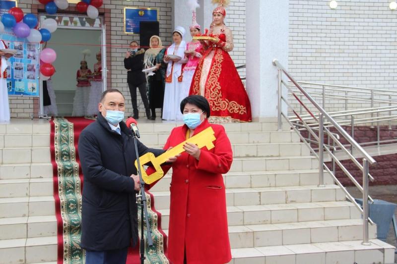 В одном из райцентров Атырауской области открылась новая центральная больница