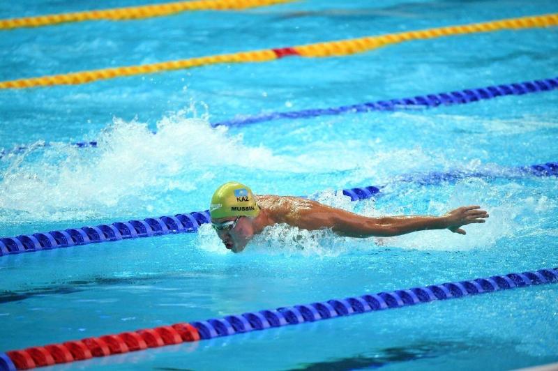 Әділбек Мусин 200 метр қашықтықта еркін жүзуден Қазақстан чемпионатында үздік атанды