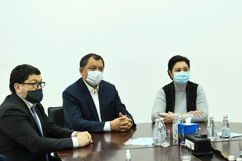 能源部长抵达克孜勒奥尔达州进行工作访问