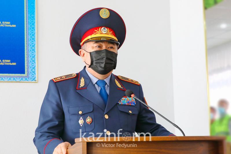 Село Енбек в Акмолинской области посетил глава МВД РК